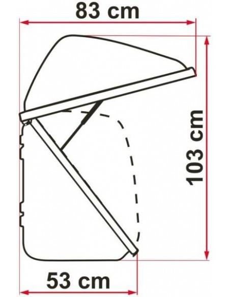 Gepäckbox für Fahrradträger - Fiamma  Ultra Box 320