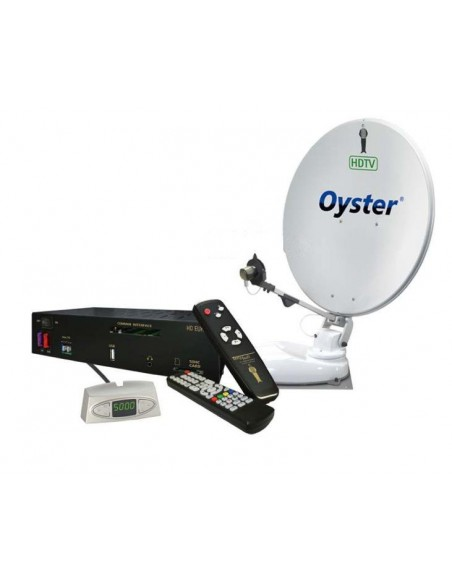 Oyster vollautomatische Sat-Anlage inkl. HD Receiver Europe