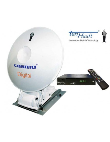Cassegrain Antenne Cosmo CI+ Single-LNB