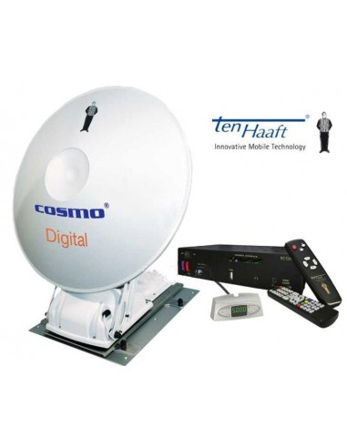 Cassegrain Antenne Cosmo HDTV Single-LNB
