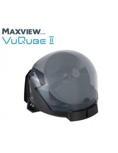 sat antenne maxview vuqube ii twin lnb jundi camping. Black Bedroom Furniture Sets. Home Design Ideas