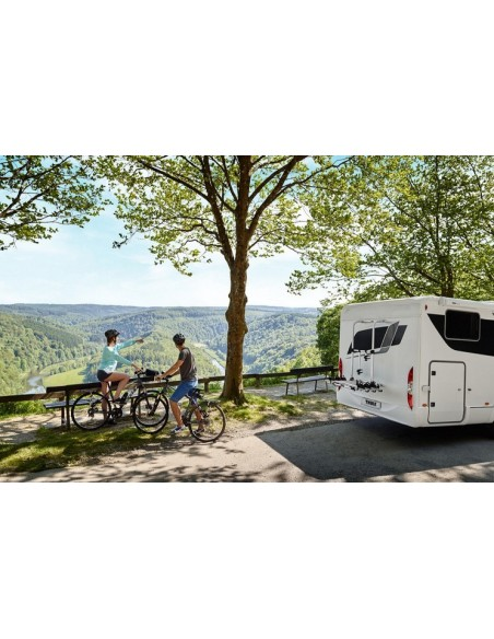 Alu-Heckträger Omni-Bike Elite G 2 Standard für 2 Räder