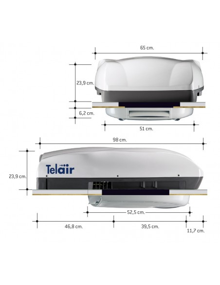Teleco Klimaanlage Silent 8400H
