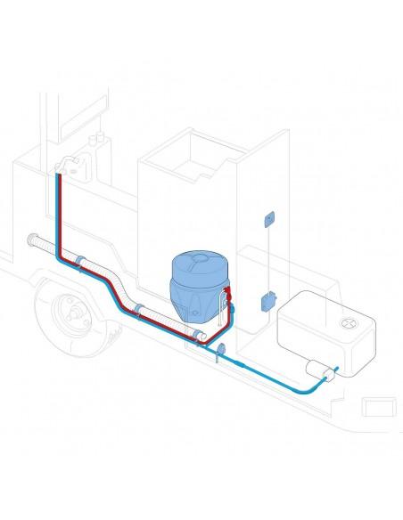Truma Boiler Elektro ohne Gasbrenner