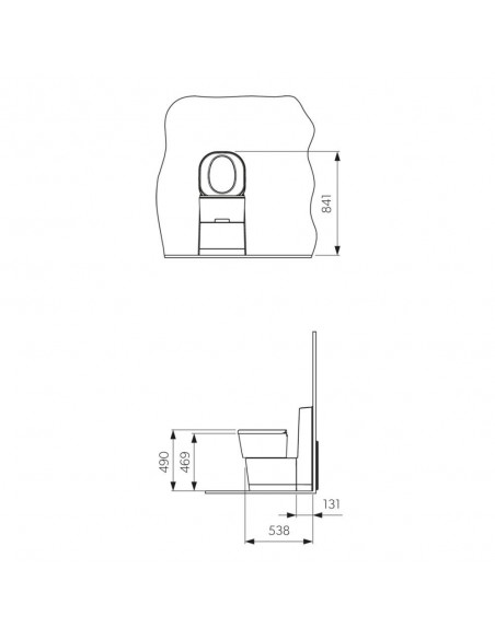 Dometic Saneo CS Cassettentoilette