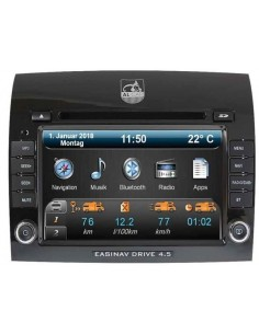 Navigationssystem AL-CAR EASINAV Drive 4.5 High Ducato DAB+ mit CAN-BUS