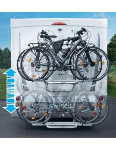 Fahrradträger E-Bike Lift für 2 E-Bikes oder 3 Fahrräder bis 60kg